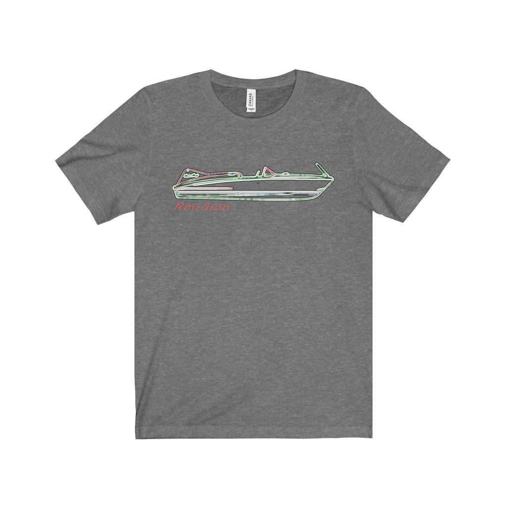 Chris Craft Cobra in Neon Unisex Jersey Short Sleeve Tee