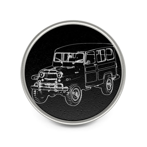 Willys Jeep Wagon Metal Pin by SpeedTiques