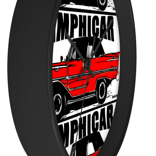 1967 Amphicar by Classic Boater Wall clock