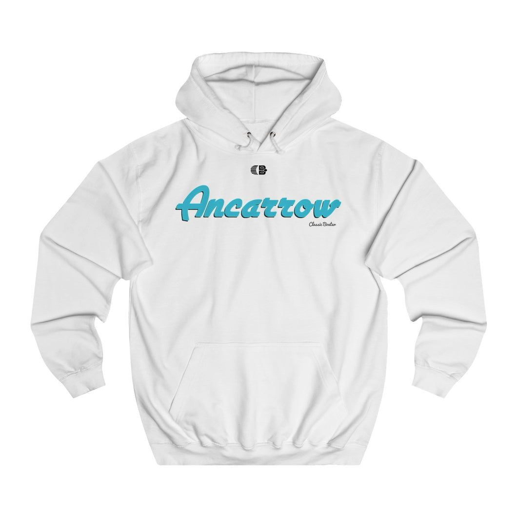 Ancarrow Boats Unisex College Hoodie by Classic Boater