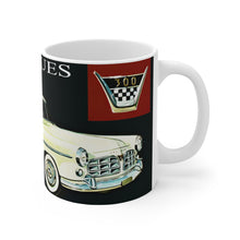 Chrysler 300 White Ceramic Mug by SpeedTiques