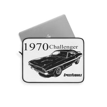 1970 Dodge Challenger Laptop Sleeve By SpeedTiques