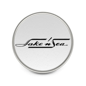 Lake N Sea Metal Pin by Classic Boater