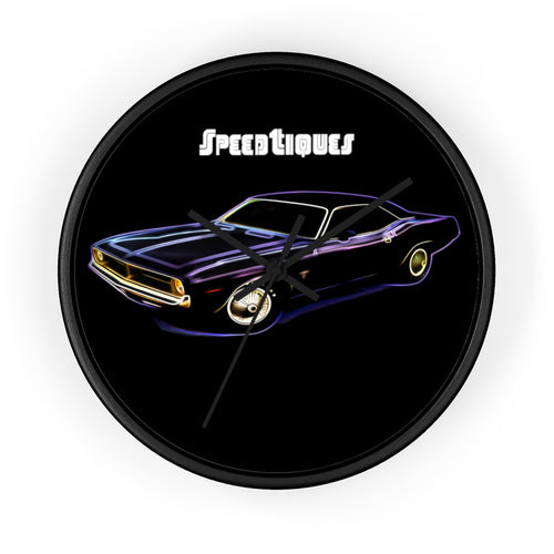 1970 Plymouth Barracuda Wall clock by SpeedTiques