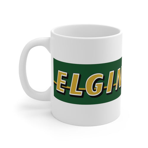 Elgin Boats White Ceramic Mug by Retro Boater