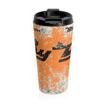 Dunphy Logo by Retro Boater Stainless Steel Travel Mug