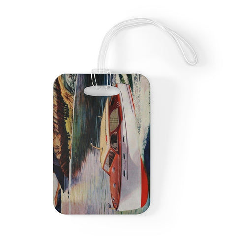 Vintage Chris Craft Bag Tag by Retro Boater