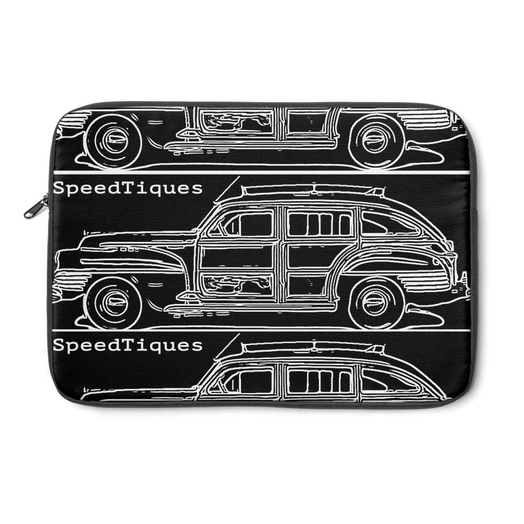 1942 Chrysler Town and Country Barrelback by Speedtiques Laptop Sleeve
