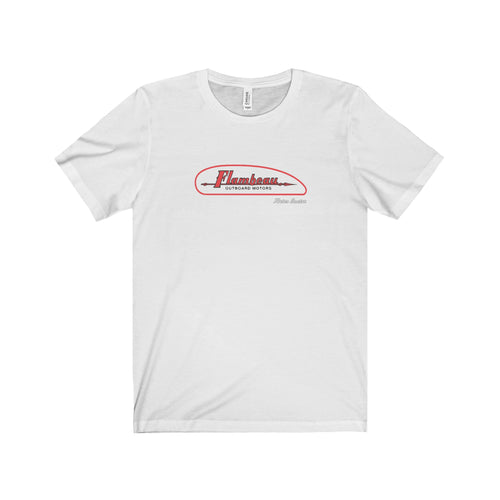 Flambeau Outboard Engine Unisex Jersey Short Sleeve Tee