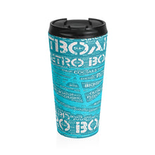 Retro Pontoon Stainless Steel Travel Mug