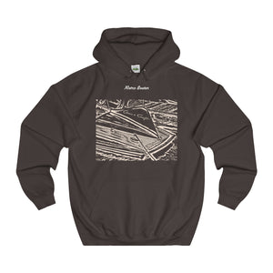 1955 Chris Craft Cobra College Hoodie