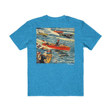 Vintage Boat Race by Retro Boater Young Mens Very Important Tee