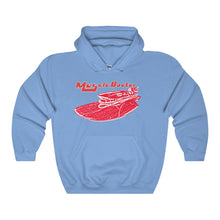 Red Ferrari by Muscle Boater Heavy Blend Hooded Sweatshirt