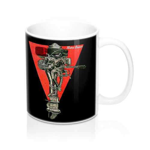 Caille Outboard Engine Co. Mug by Retro Boater