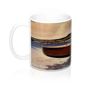 Vintage Racer Mugs by Retro Boater