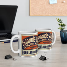 Evinrude Deep Lagoon Marina Mug 11oz by Retro Boater