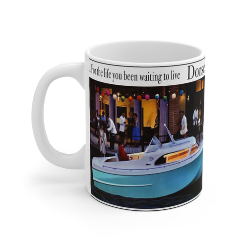 1961 Dorsett Mug 11oz by Retro Boater