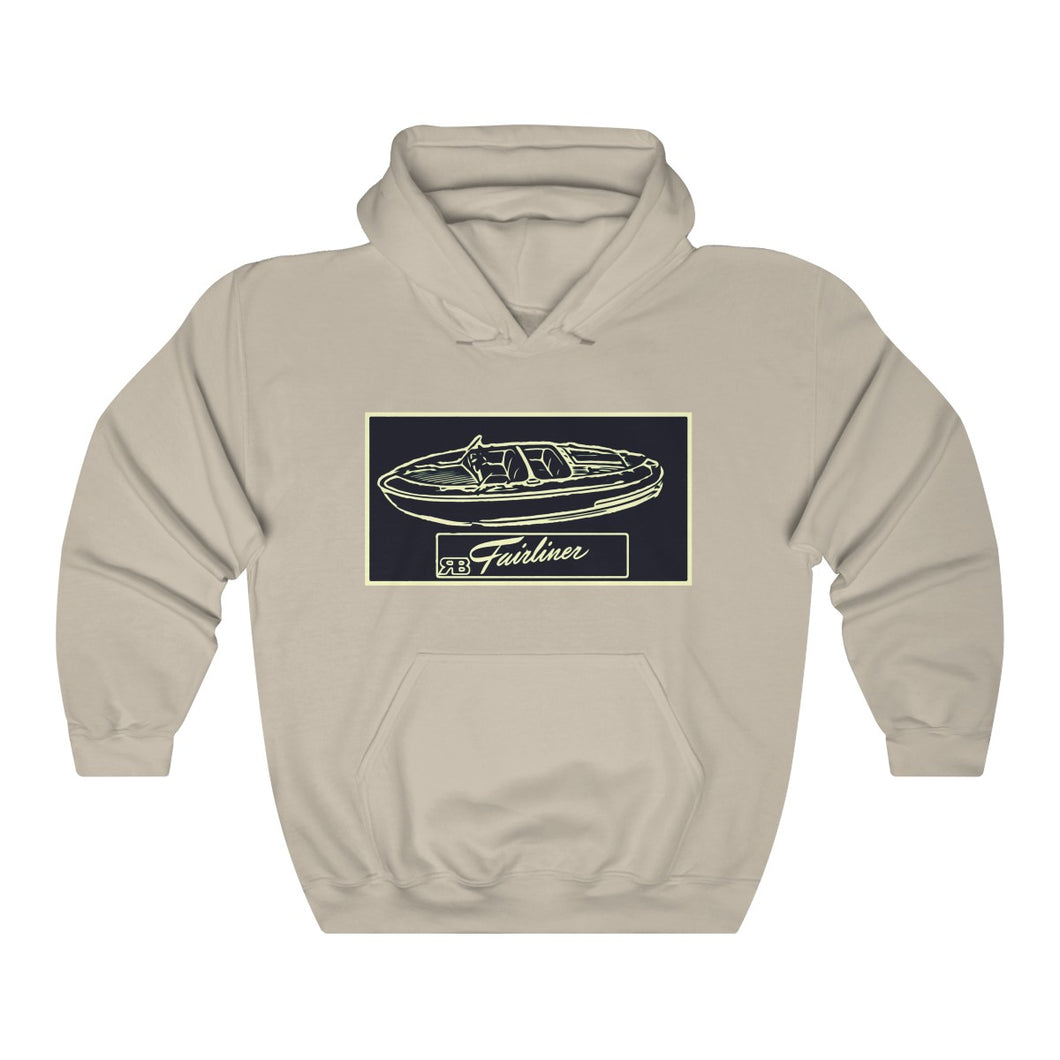 Western Fairliner Runabout Sweatshirt by Retro Boater