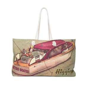 Higgins Cruiser Weekender Bag by Retro Boater