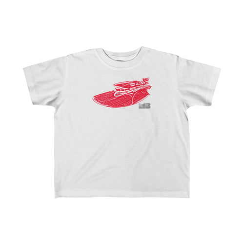 Ferrari Vintage Hydro by Muscle Boater Toddler Fine Jersey Tee