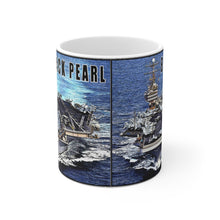 USS Lincoln AKA Black Pearl White Ceramic Mug
