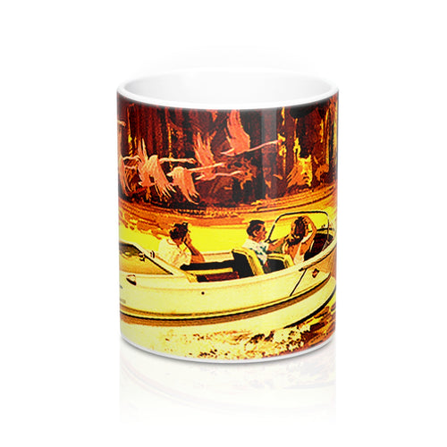 Dorsett Sea Hawk Jet Boat Mugs by Retro Boater