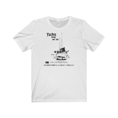 Seabird Boat Co. T-Shirt by Retro Boater