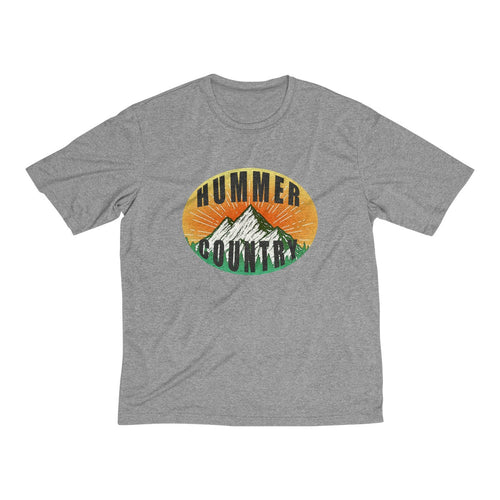 Hummer Country Men's Heather Dri-Fit Tee By SpeedTiques