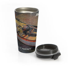 Chris Craft Express Cruiser by Retro Boater Stainless Steel Travel Mug