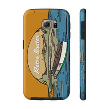 Vintage Racers in the Sunset by Retro Boater All US Phone cases