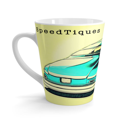 1951 Mercury Led Sled Hot Rod Latte mug By SpeedTiques