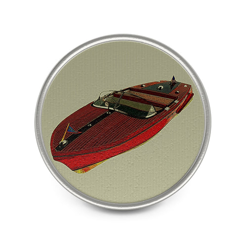 Vintage Chris Craft Capri Metal Pin