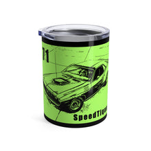 1971 Plymouth Cuda Tumbler 10oz by SpeedTiques