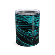 Vintage Riva in the Moonlight by Retro Boater Tumbler 10oz