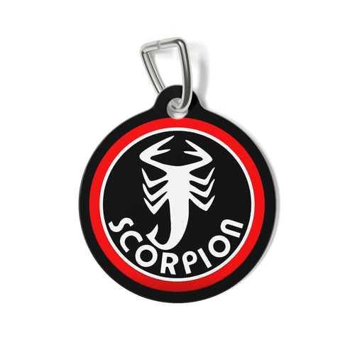 Vintage Snowmobile Scorpion  Tag