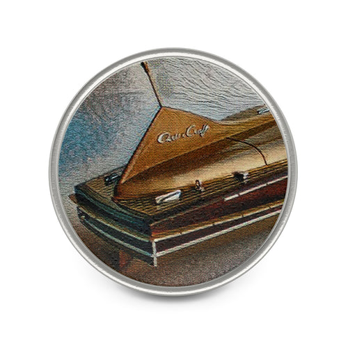 Vintage Chris Craft Cobra Metal Pin by Classic Boater