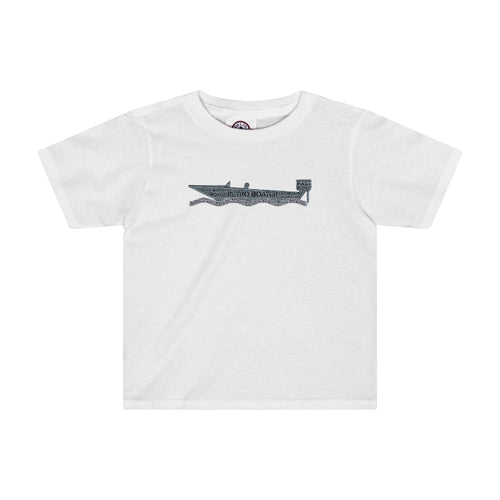 Outboard by Retro Boater Toddler Tee