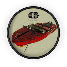 1955 Chris Craft Capri Wall clock by Classic Boater