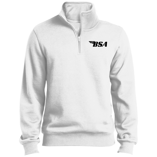 Vintage BSA Motorcycles 1/4 Zip Sweatshirt
