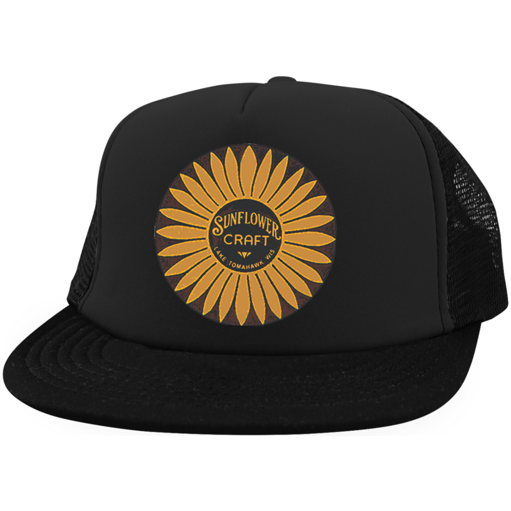ae6088c1 Sunflower Boats by Retro Boater DT624 District Trucker Hat with Snapback