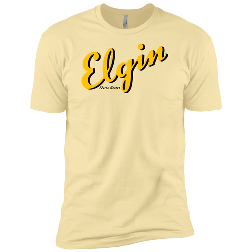 Elgin Boats by Retro Boater NL3600 Next Level Premium Short Sleeve T-Shirt