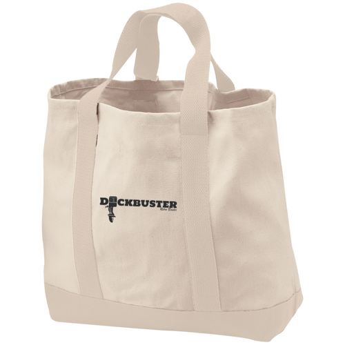 Dock Buster B400 Port & Co. 2-Tone Shopping Tote