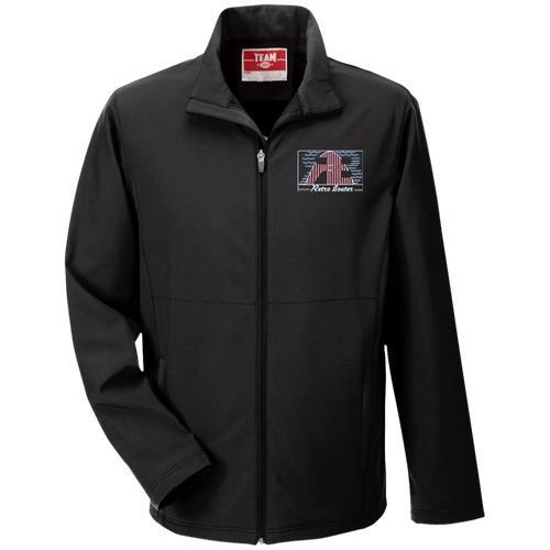Retro Boater Logo TT80 Team 365 Men's Soft Shell Jacket
