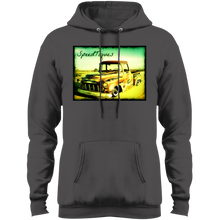 1956 Chevy Pickup Shop Truck by SpeedTiques  Port & Co. Core Fleece Pullover Hoodie