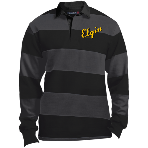 Elgin Boats ST301 Sport-Tek LS Rugby Polo