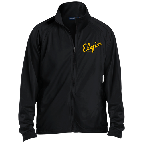 Elgin Boats JST90 Sport-Tek Men's Raglan Sleeve Warmup Jacket