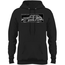 1942 Chrysler Town and Country Barrelback by Speedtiques Port & Co. Core Fleece Pullover Hoodie