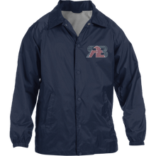 Retro Boater Logo M775 Harriton Nylon Staff Jacket