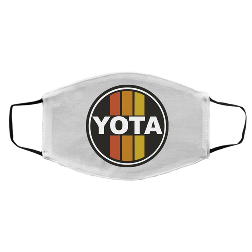 Vintage look Yota Toyota Circle Sign Style FMA Med/Lg Face Mask