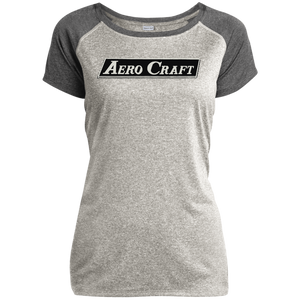 Aero Craft LST362 Sport-Tek Ladies Heather on Heather Performance T-Shirt